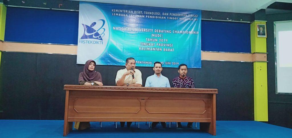 STIM SB Dalam National University Debating Championship (NUDC) 2019 Tingkat Provinsi