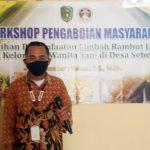 "Workshop Pengabdian Masyarakat Dosen STIM SB ""Pelatihan Pemanfaatan Limbah Rambut Jagung"" Bagi Kelompok Wanita Tani Desa Wisata Sebente"