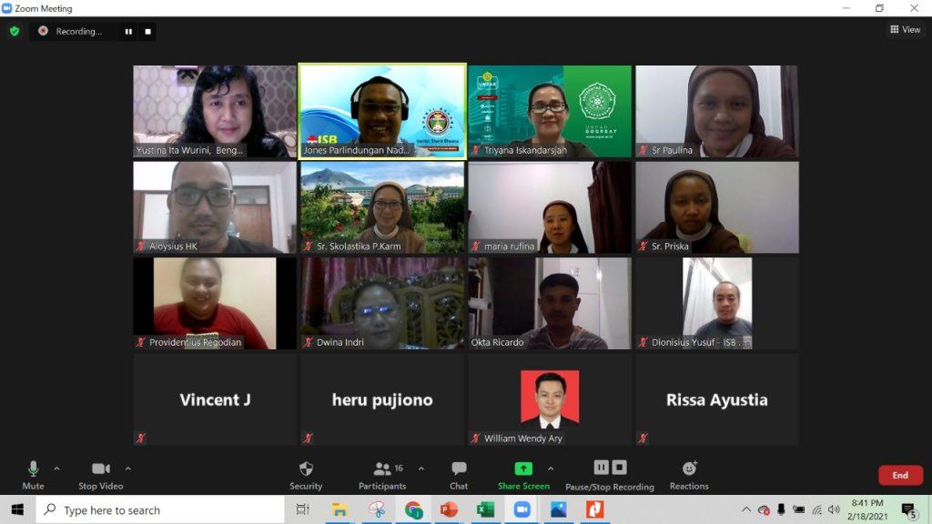 Pendampingan Tim SCORE Institut Shanti Bhuana dan Universitas Parahyangan Bandung dengan Paguyuban UMKM Bumi Sebalo Kabupaten Bengkayang